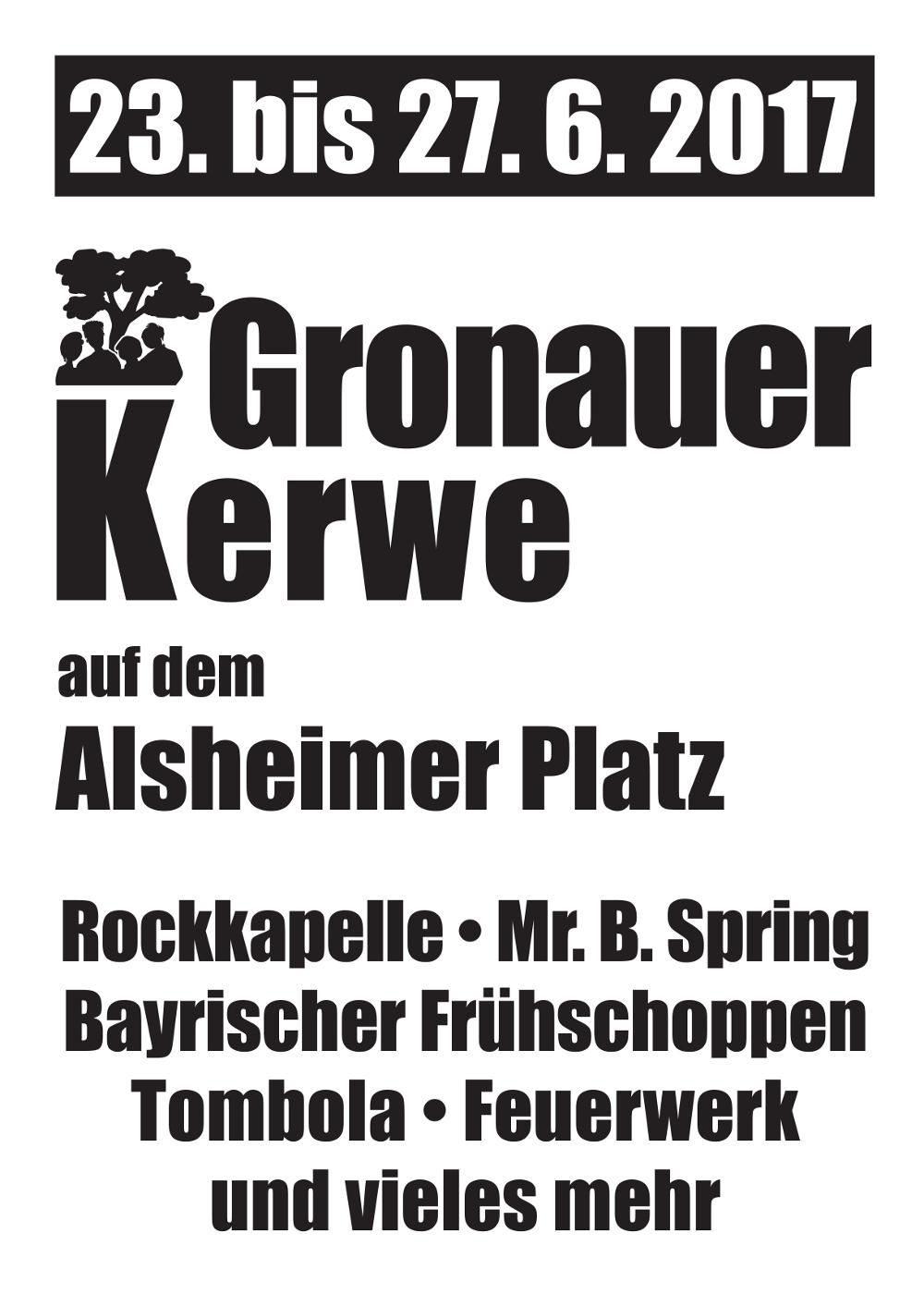 Gronauer Kerwe 2017